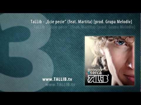 Tekst piosenki Tallib - Ecie pecie  feat. Martita po polsku