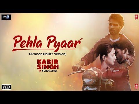 Pehla Pyaar Video Song | Kabir Singh | Shahid Kapoor, Kiara Advani | Armaan Malik | Vishal Mishra
