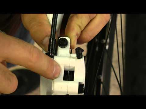 Manutenzione mtb: regolazione freno a disco bikeinumbria.MP4