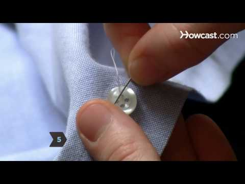 Video - Μάθε πώς να ράβεις ένα κουμπί μέσα σε δύο λεπτά