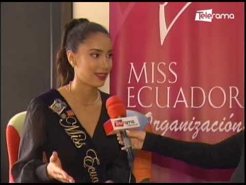 Miss Ecuador viajará el 6 de mayo a EE.UU. para representarnos en el Miss Universo