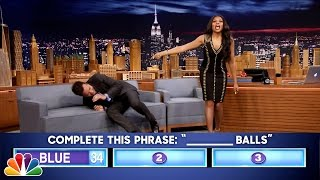 Download Youtube: Fast Family Feud with Taraji P. Henson
