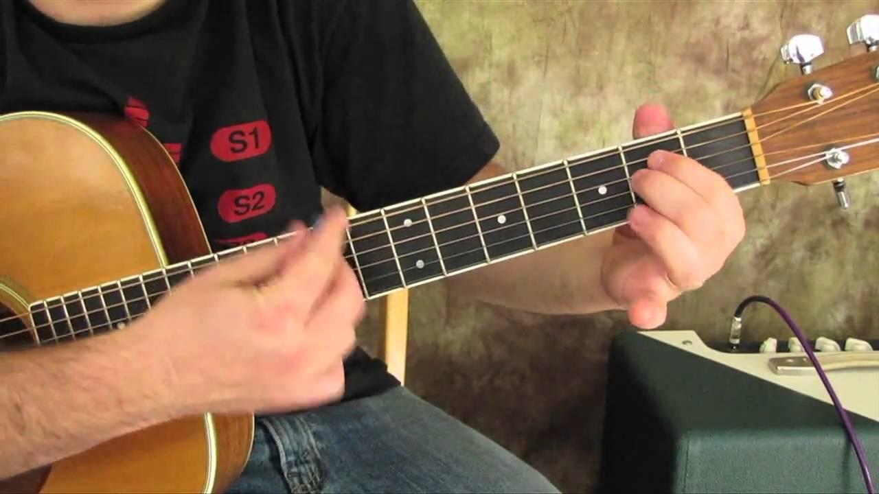 Radiohead – Karma Police – Easy Beginner Acoustic Songs on Guitar – guitar lessons