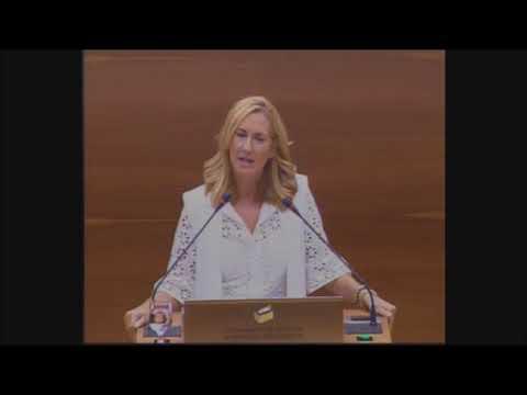 Ana Beltrán acusa al cuatripartito de apoyar la vi...