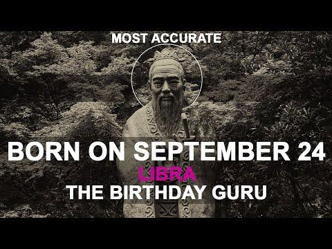 Born on September 24 | Birthday | #aboutyourbirthday | Sample | #birthdaygurutribemember