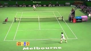 Roger juega su mejor set contra andy!