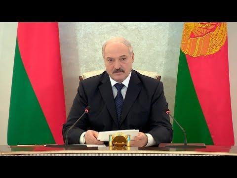 Лукашенко отмечает заслуги правоохранителей, но не считает обстановку в целом благоприятной