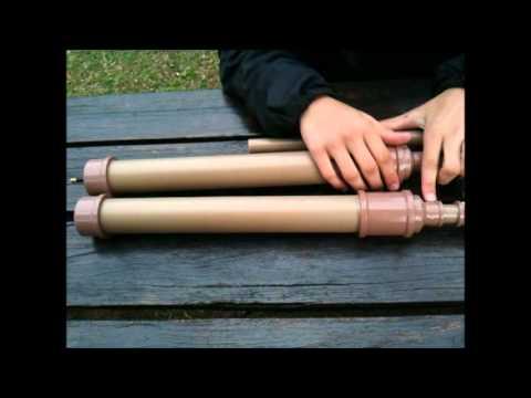 Armas de pressão caseiras