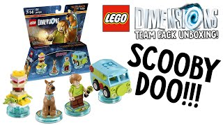 LEGO DIMENSIONS SCOOBY DOO TEAM PACK UNBOXING!!! (LEGO Set No. 71206)