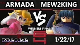 Video Genesis 4 SSBM - [A] Armada (Peach) Vs. FOX MVG Mew2king (Marth) Smash Melee Winners Finals MP3, 3GP, MP4, WEBM, AVI, FLV Agustus 2017