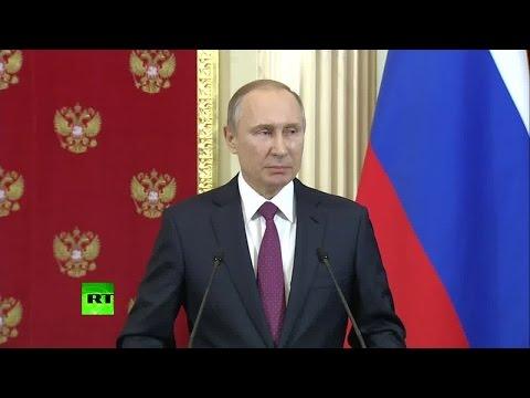 Путин: В США готовы организовать «майдан», только бы не дать Трампу вступить в должность