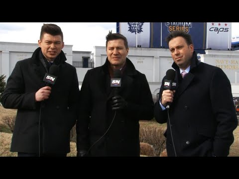 Video: Leafs, Capitals batten down hatches ahead of outdoor game