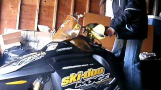 7. 2005 Ski-doo MXZX Renegade 800