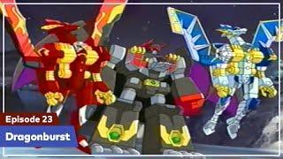 Daigunder - Episode 23 (BAHASA INDONESIA) : Dragonburst!