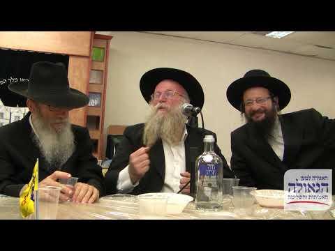 """הרב פרידמן מתוועד בישיבת ראשל""""צ"""