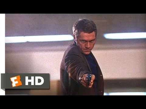 Bullitt (1968) - Airport Shootout Scene (10/10) | Movieclips