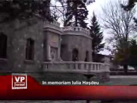 In memoriam Iulia Haşdeu
