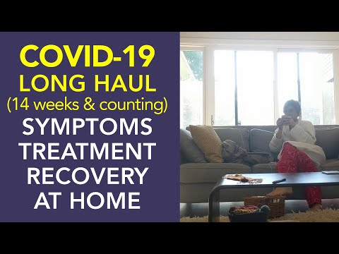 Covid-19 Symptoms For 14 Weeks and Counting, Treatment and Recovery for Long Haulers