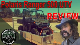 1. Polaris Ranger 500 (UTV Review)