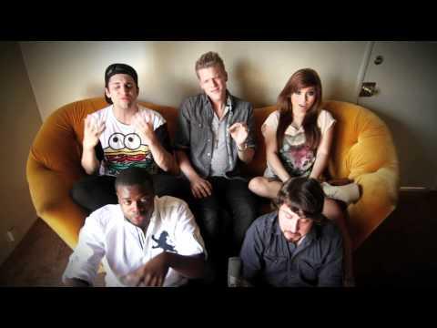 Tekst piosenki Pentatonix - We are young po polsku