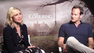 Vera Farmiga&Patrick Wilson Interview - The Conjuring (JoBlo.com)