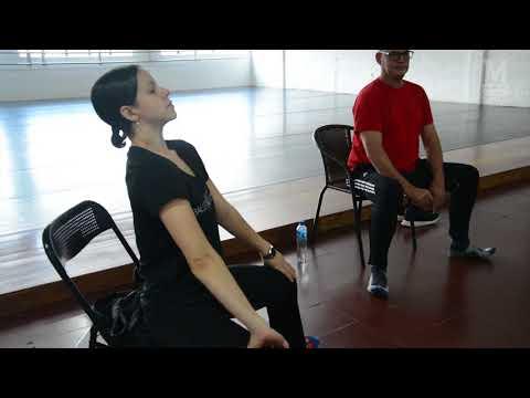 Mark Baldwin coreógrafo birtánico en Medellín