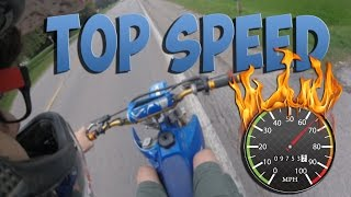 3. YZ85 TOP SPEED!