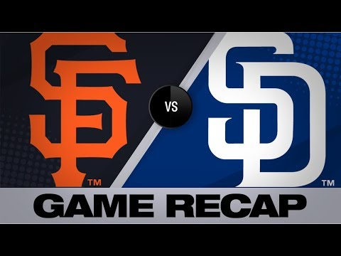 Video: Longoria, Beede lead the way against Padres | Giants-Padres Game Highlights 7/2/19