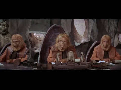 Planet Of The Apes (1968) Trial Scene Part 1/5
