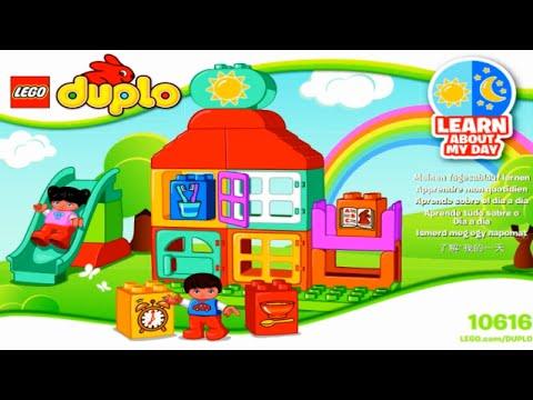 LEGO DUPLO 10616 My First Playhouse  Мой первый игровой домик