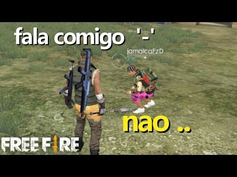 FINGINDO SER SURDO NO FREE FIRE