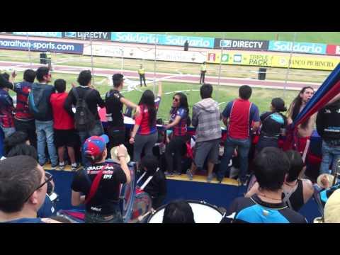 Esta es la banda loQa de los placeros! - Mafia Azul Grana - Deportivo Quito