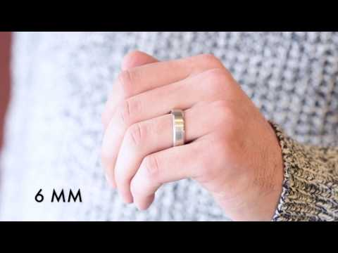 Men's Wedding Bands - Which Width Is Right For You?
