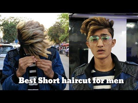 Mens hairstyles - Men's Hairstyle 2018 / Haircut + Hairstyle & Short Men's Hair