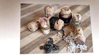 Использование винных пробок в декоре