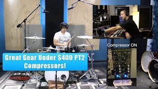 Video Recording Drums: Great Gear Under $400 PT2 - Compressors MP3, 3GP, MP4, WEBM, AVI, FLV Juli 2018