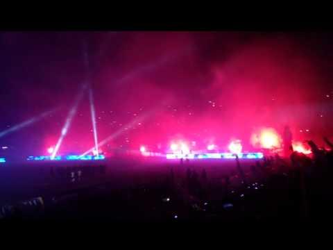 Noche Blanquiazul 31-01-2014 Alianza Lima Vs. Rentistas - Comando SVR - Alianza Lima