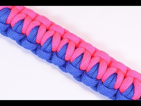 How to Make a Survival Paracord Bracelet - The Chesty Soloman - BoredParacord