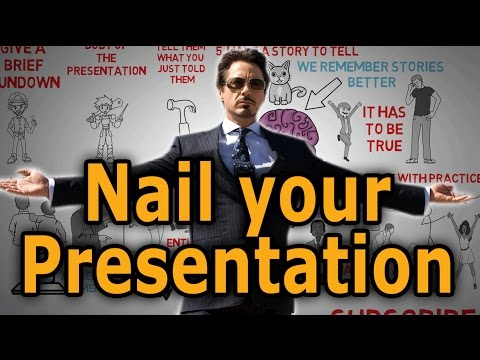 HOW TO Give A Great Presentation - 7 Presentation Skills And Tips To Leave An Impression