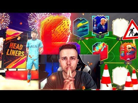 FIFA 20: HEADLINERS Pack Opening / SBC´s + neues WL Team Bauen 😱🔥