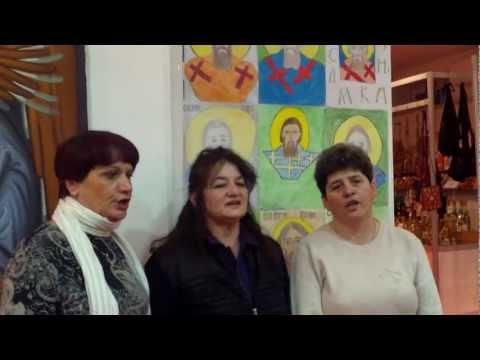 Moj dragane, moja grudo leda - u izvođenju ženske pevačke grupe ZU BANIJA Beograd