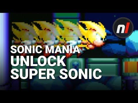 Sonic Mania: How to Unlock Super Sonic (видео)