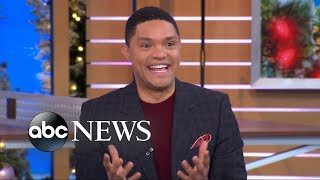 Video 'The Daily Show' host Trevor Noah says he calls Will Smith all the time MP3, 3GP, MP4, WEBM, AVI, FLV Desember 2018