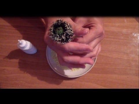 Как сделать тычинку для цветка из манки