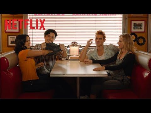 Impressions from Jughead's hat | Riverdale | Netflix