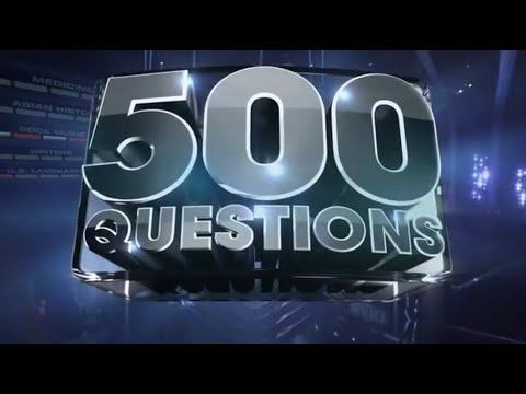 500 Questions - Season 1, Episode 1 (May 20, 2015)