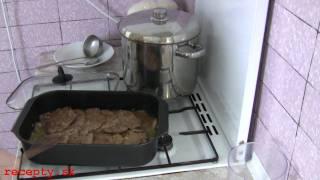 Recepty sk: Hovädzie mäso na smotane