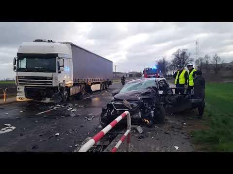Wideo1: Wypadek w Żychlewie