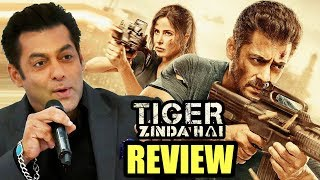 Salman Khan's First Review On Tiger Zinda Hai