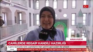 Gaziosmanpaşa'da Cami Temizliği - Ülke Tv